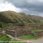 Puka Pukara - Inka Ruinen in Peru