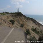 Straßenschäden durch Erosion