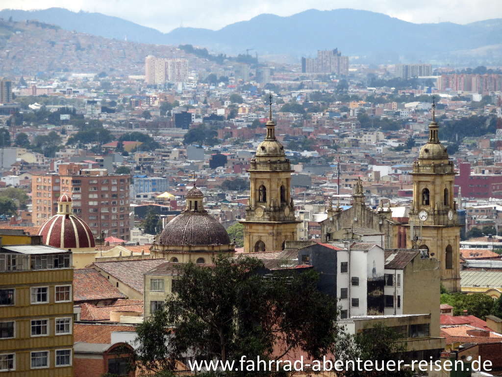 Bogotá in Kolumbien – die Sehenswürdigkeiten