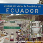 Grenze Ecuador Kolumbien
