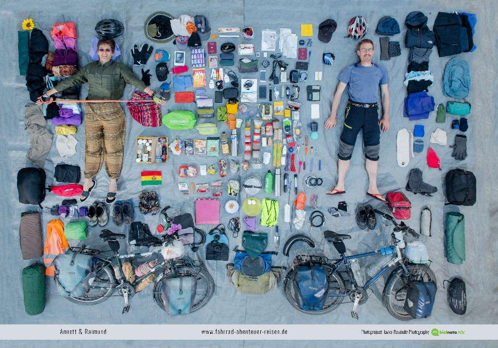 Die Packliste für Radreisen und Fahrradtouren