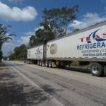 Roadtrain in Mexiko