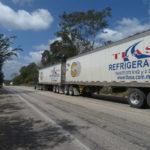 Roadtrain in Mexiko