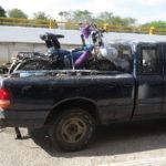 Trampen auf Radreisen