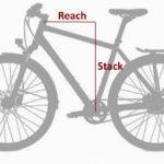 Stack und Reach - Fahrradgröße