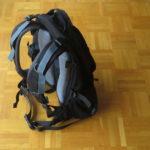 Rucksack- aufwändiges Trägersystem