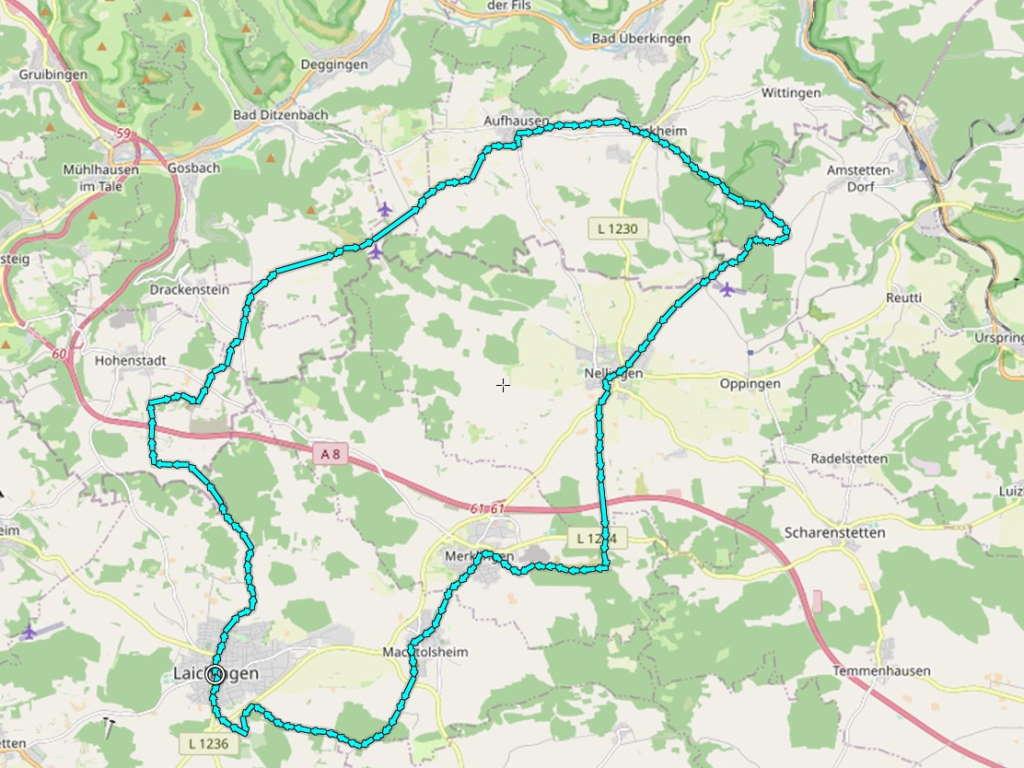 Alb-Donau-Kreis-Radtour 1
