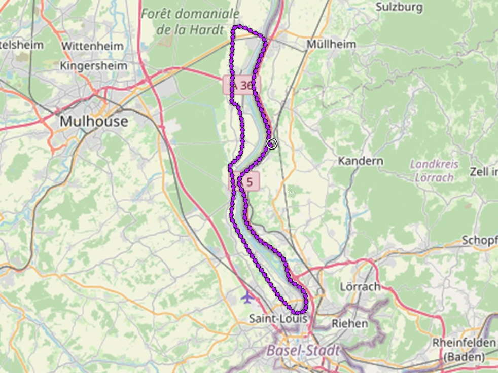 Altrhein und Rhein-Rhone-Kanal