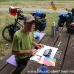 Bloggen auf Radreisen