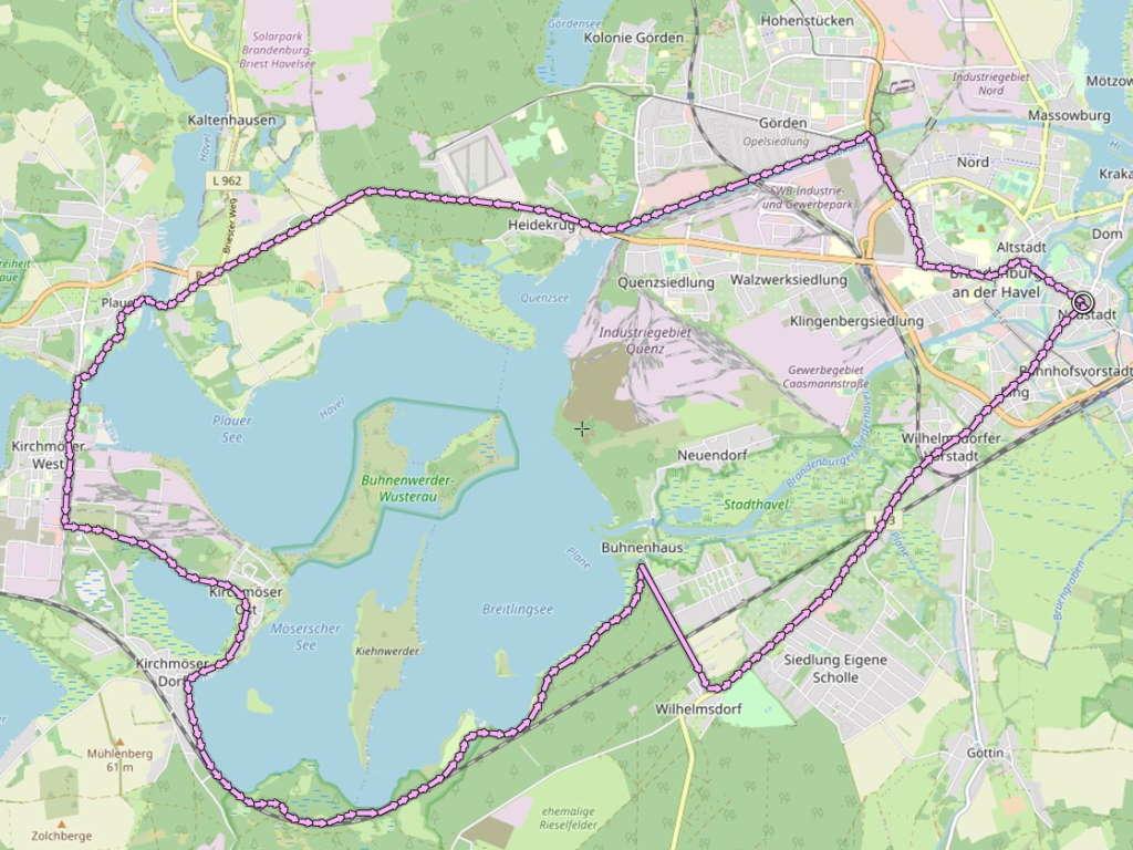 Brandenburger Seen - Sieben Seen Tour