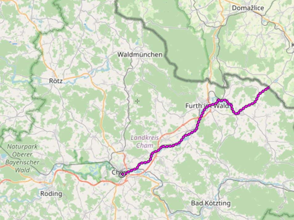 Chambtal-Radweg