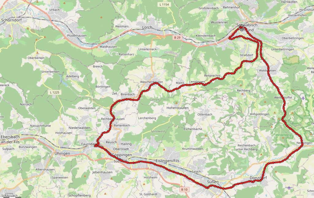 Drei-Kaiser-Berge-Radweg