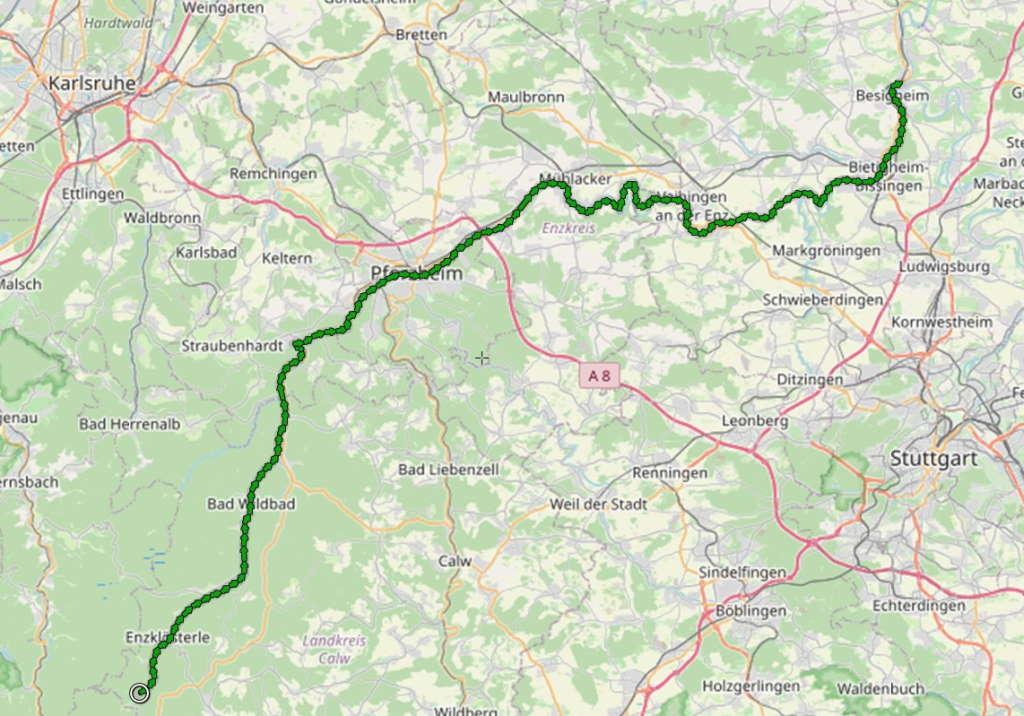 Enztal-Radweg