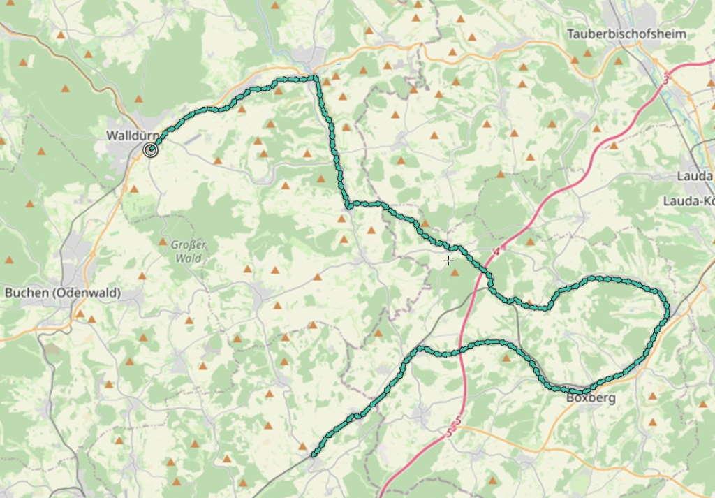 Grünkernradweg Route 2