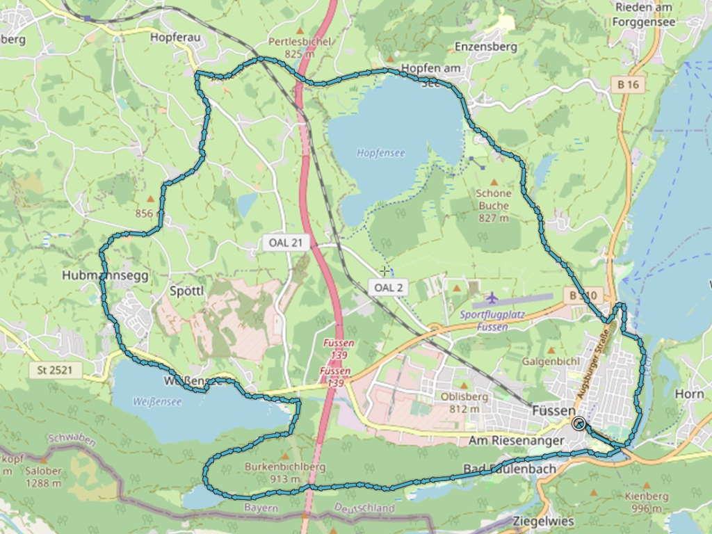 Kneipp-Radrunde Schlosspark