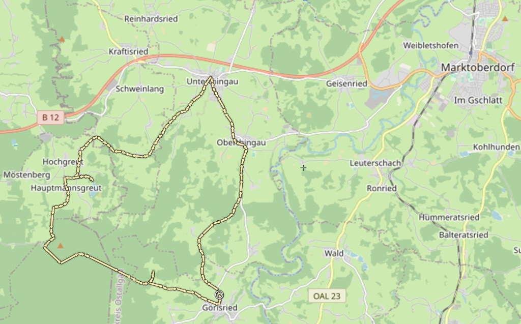 Moorwald-Runde Schlosspark