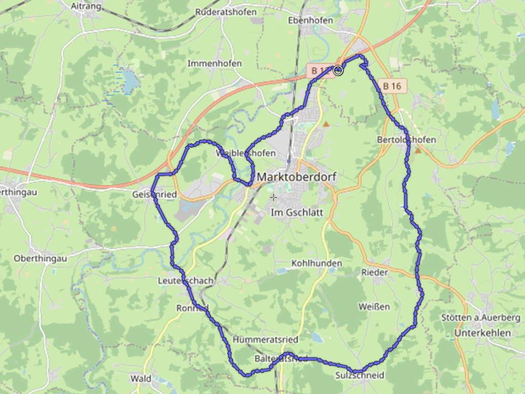 Oberdorfer Radlrunde
