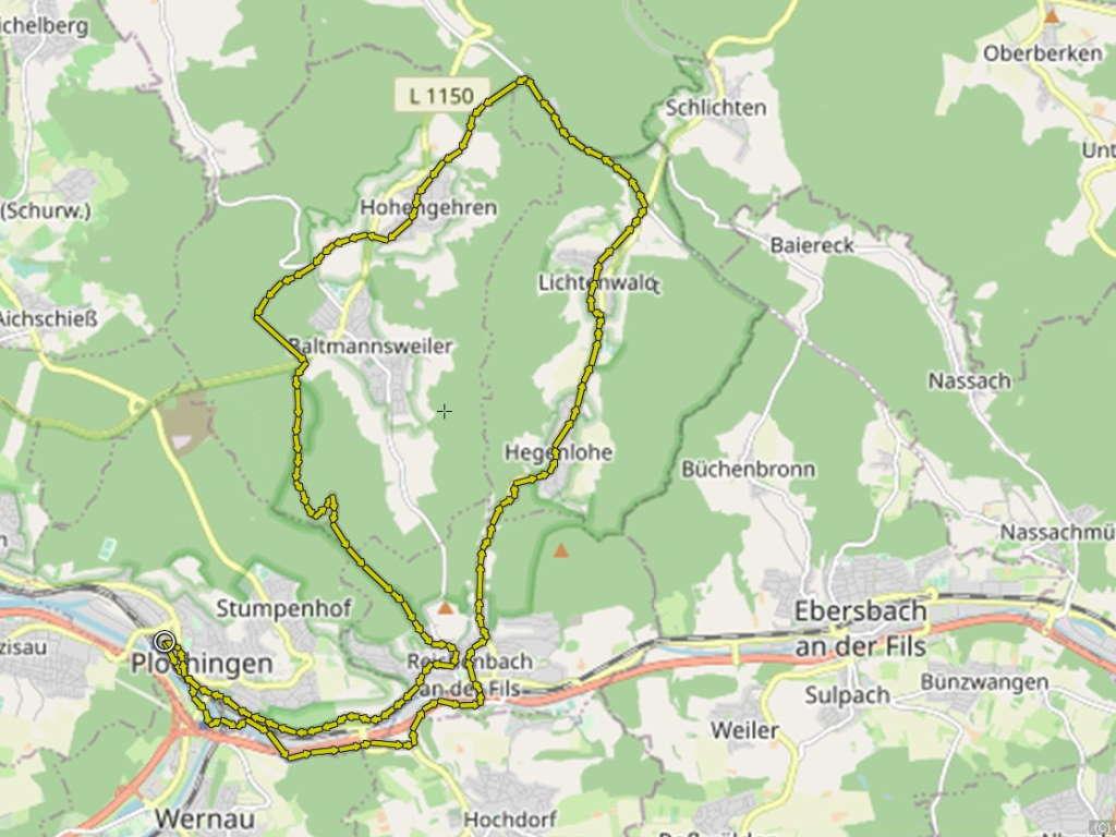 Radtour Berg + Tal Kaisersträßle
