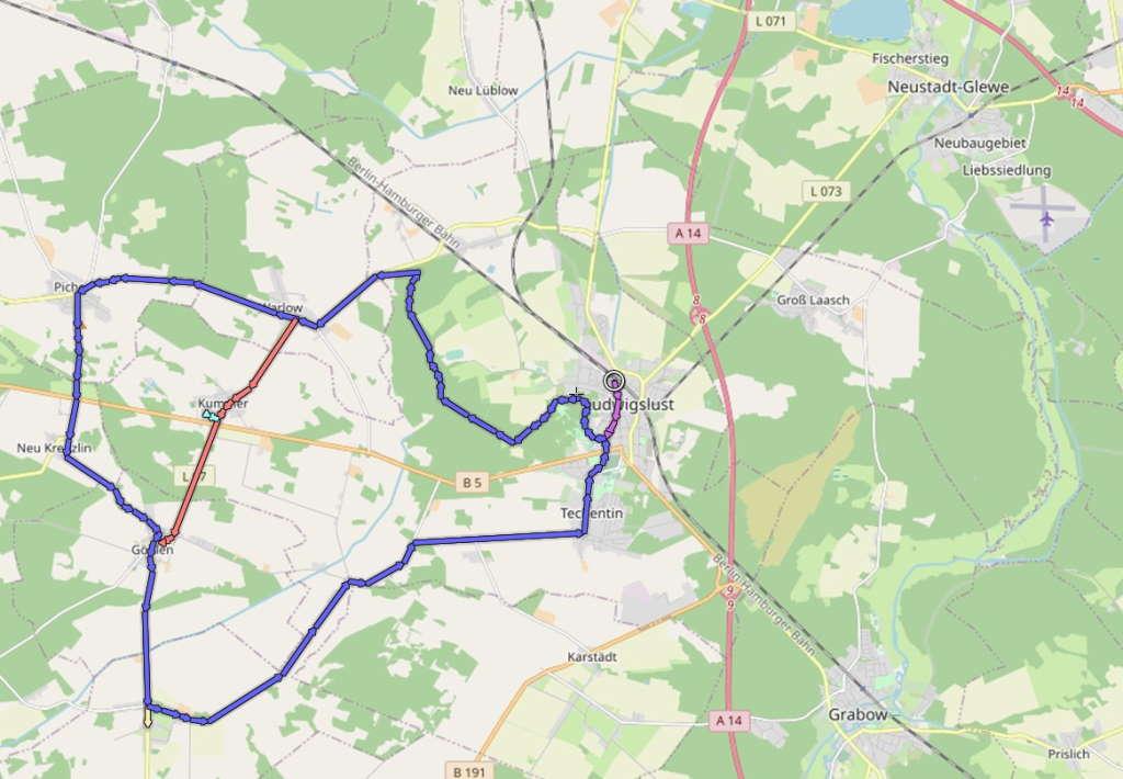 Raseneisenstein Dörfertour