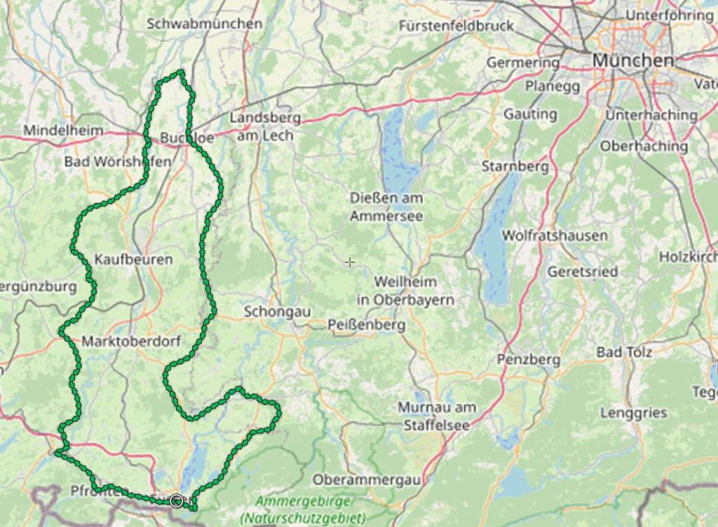 Schlosspark-Radrunde