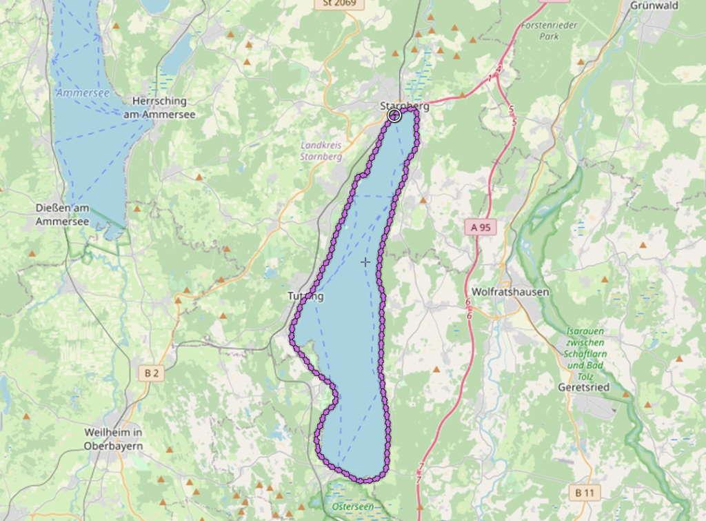 Starnberger See Runde