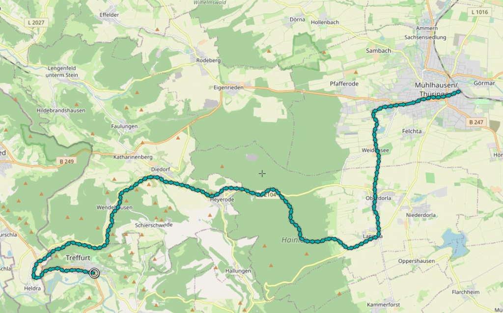 Treffurt - Mühlhausen