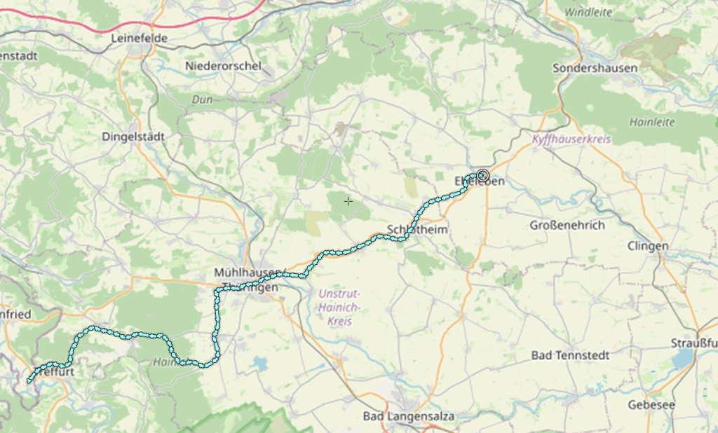 Unstrut-Werra-Radweg 2