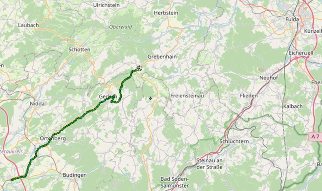 Vulkan-Radweg Teil II