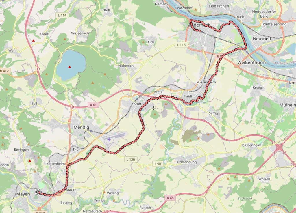 Vulkanpark-Radweg
