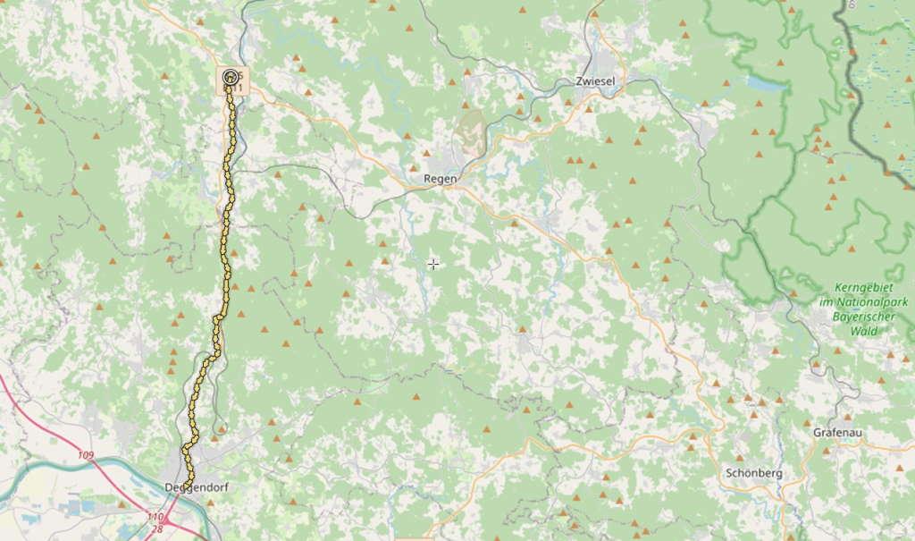 Waldbahn-Radweg