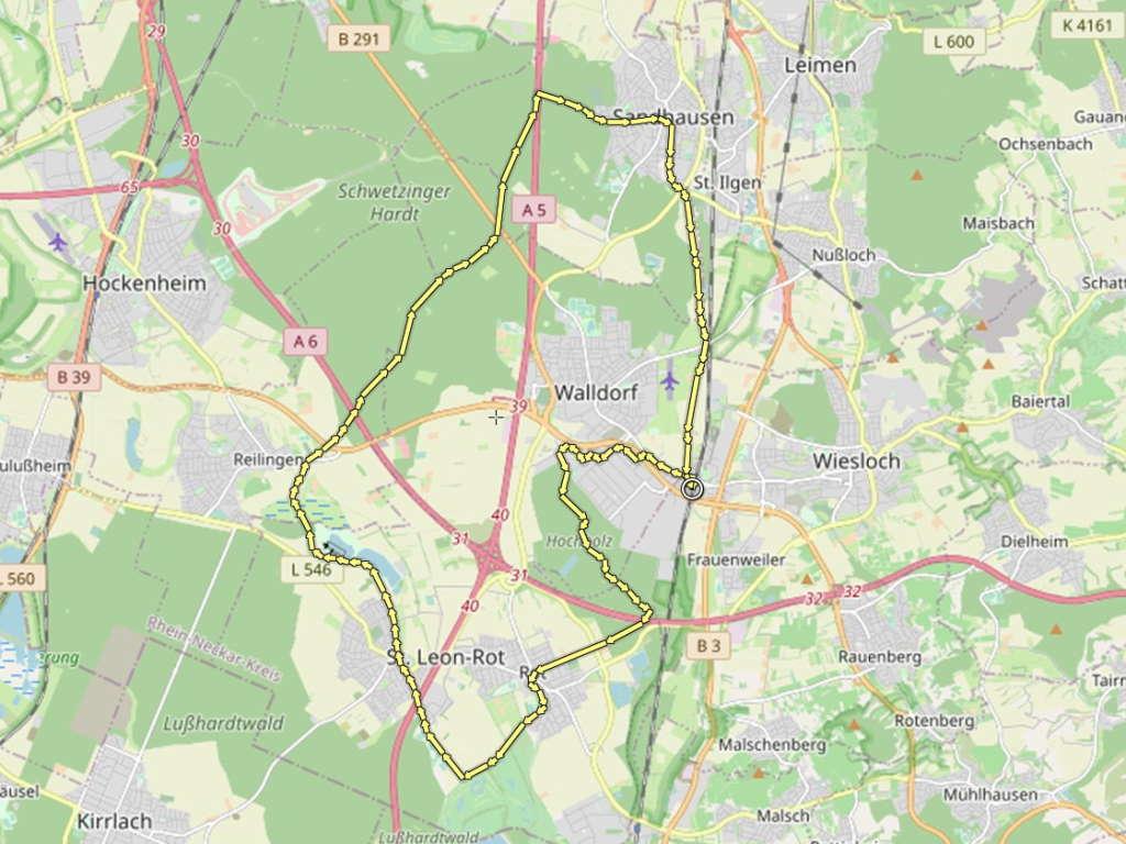 Walldorf Rundtour