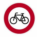 254 Verbot für Radverkehr