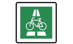 350.1 Radschnellweg - Verkehrszeichen