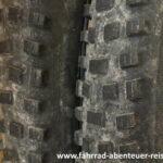 Fahrradreifen - Reifenprofil Endurobike
