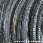 Fahrradreifen - Reifenprofil, Reifendruck, Abrieb, …
