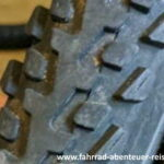 Fahrradreifen - Reifenprofil für Straße und Gelände
