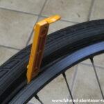 Fahrradreifen montieren
