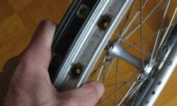 Fahrradfelge austauschen